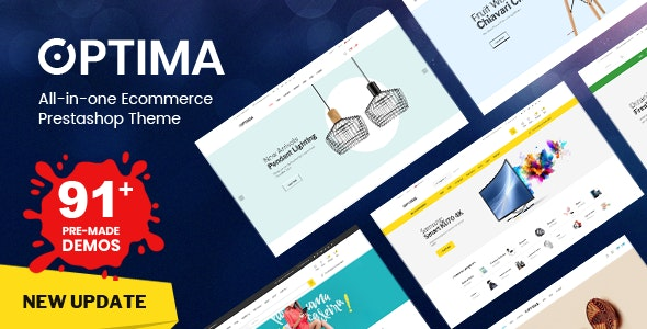 Plantilla de PrestaShop: Optima