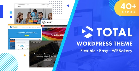 Plantilla de WordPress: Total